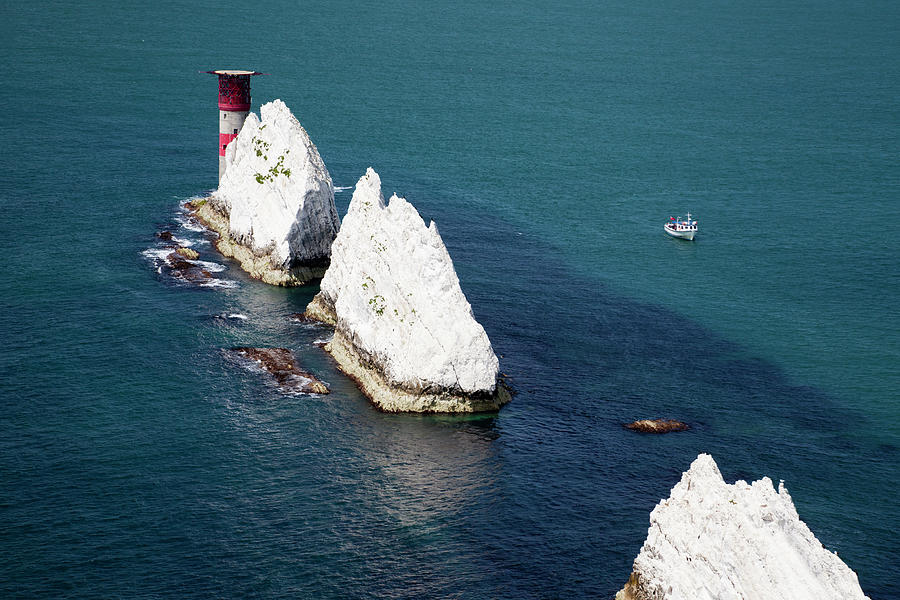 The Needles, Isle Of Wight Photograph by Markgoddard
