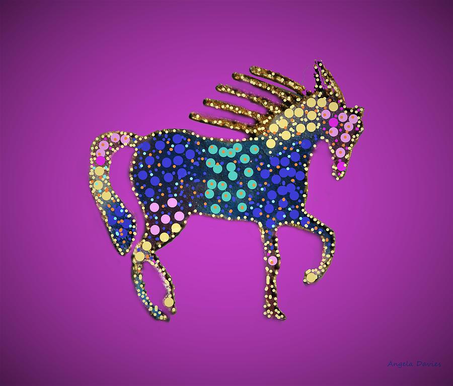 The Neon Pony by Angela Davies