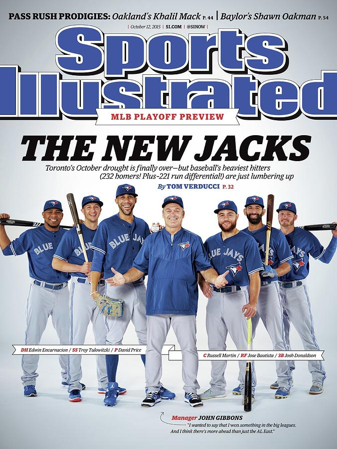 The New Jacks 2015 Mlb Playoff Preview Sports Illustrated Cover Photograph by Sports Illustrated