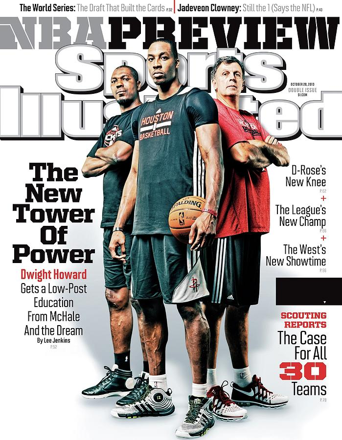 The New Tower Of Power 2013-14 Nba Basketball Preview Issue Sports Illustrated Cover Photograph by Sports Illustrated