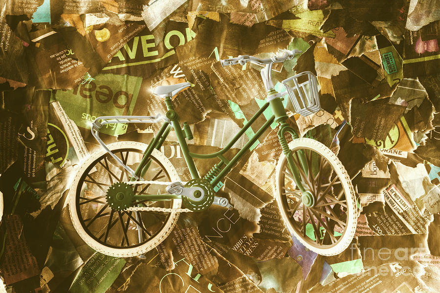 Delivery Photograph - The News Cycle by Jorgo Photography - Wall Art Gallery