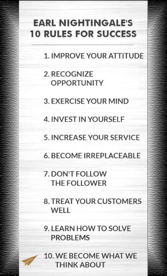 The Nightingale Rules of Success by Mario Carini