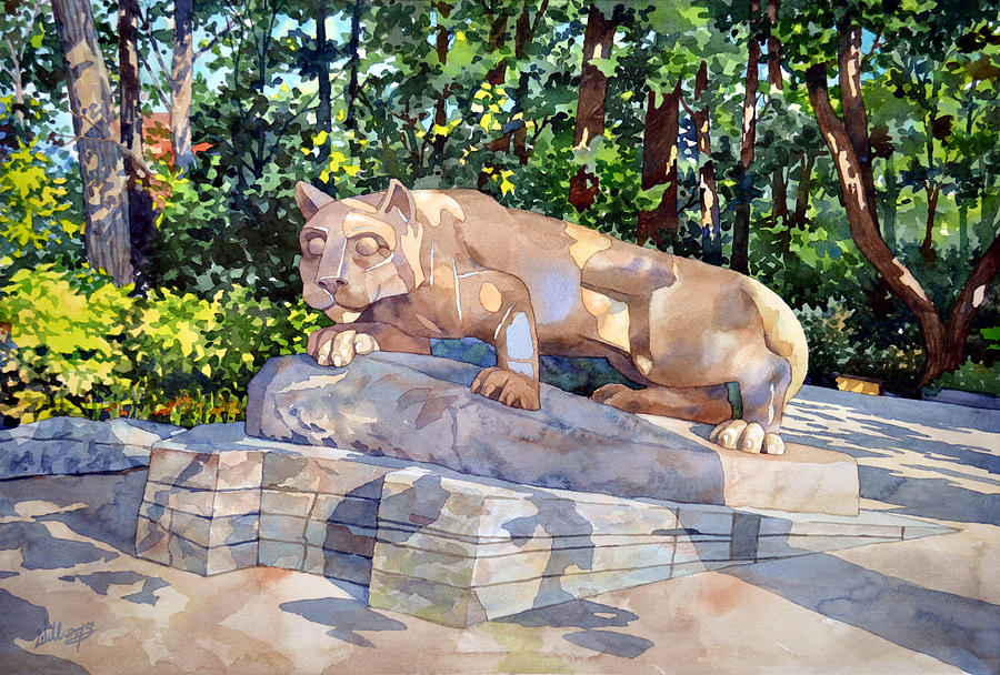 The Nittany Lion by Mick Williams