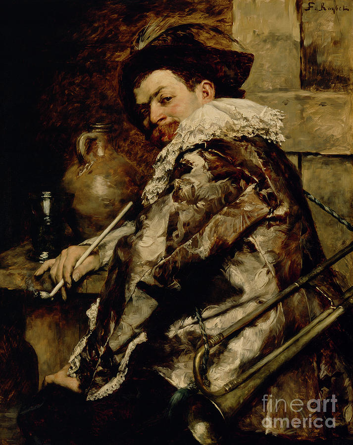 The Noble Guard by Ferdinand Roybet