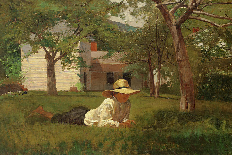 Winslow Homer Painting - The Nooning, 1872 by Winslow Homer