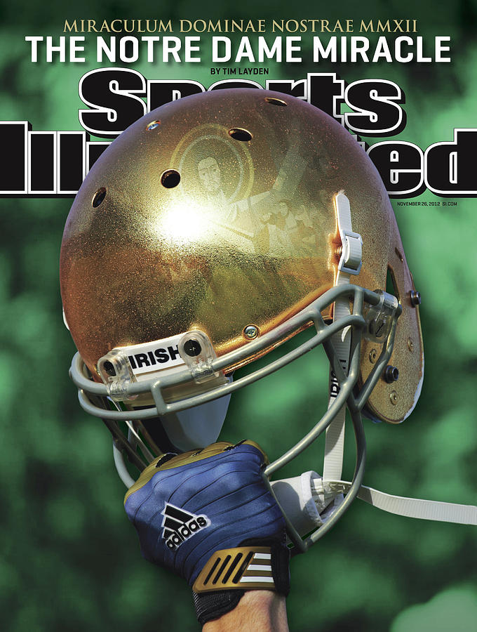 The Notre Dame Miracle Sports Illustrated Cover Photograph by Sports Illustrated