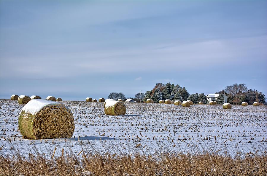Snow Photograph - The November Snow by Bonfire Photography