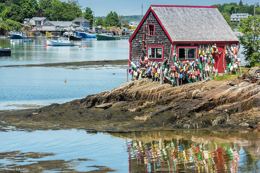 The Bailey Island Nubble by T-S Photo Art