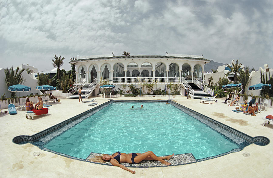 The Oasis Club, Marbella Photograph by Slim Aarons