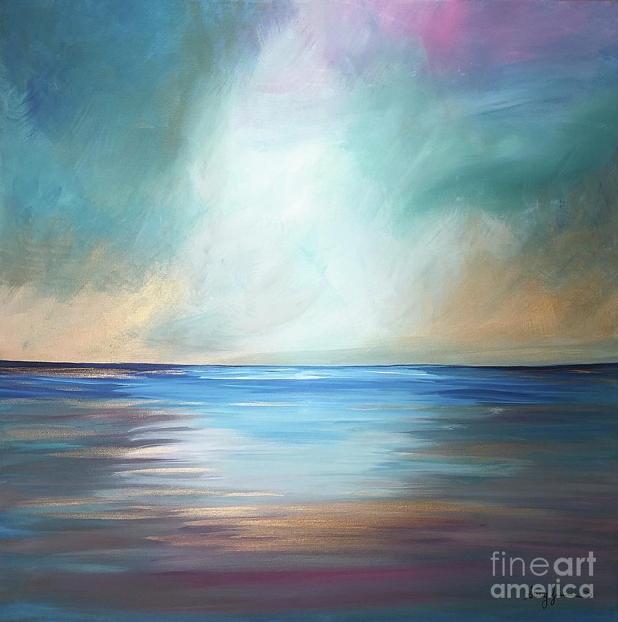 The Ocean Meets the Sky by Stacey Zimmerman