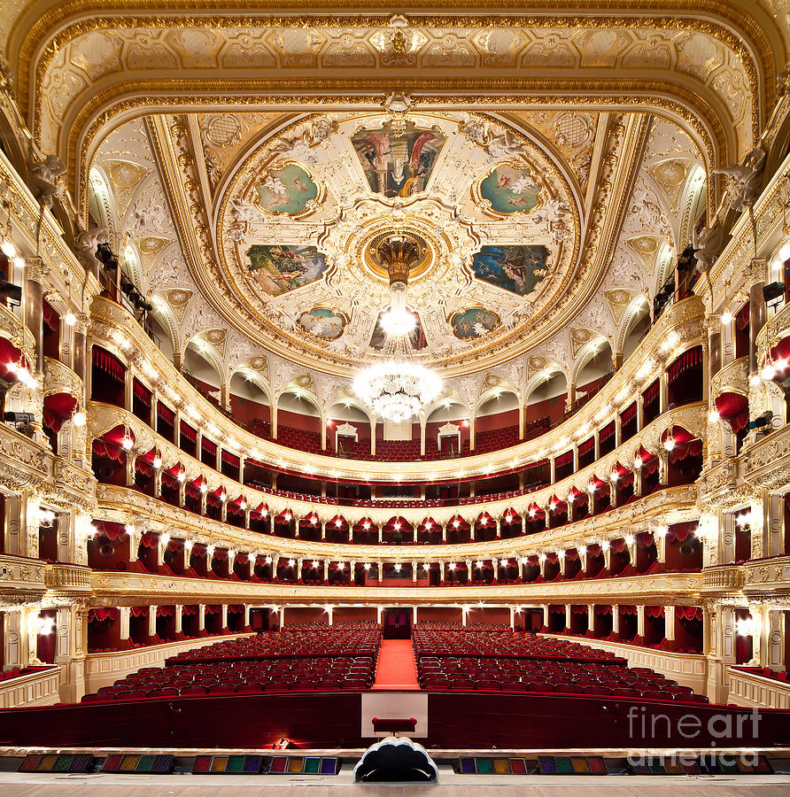 Opera Photograph - The Odessa National Academic Theater Of by Alexander Levitsky