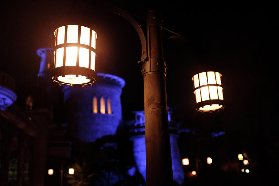 The Castle Of The Beast At Walt Disney World by John McLenaghan