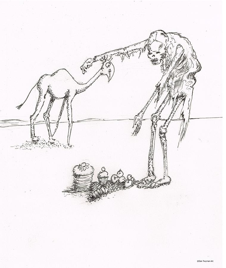The Offering Drawing