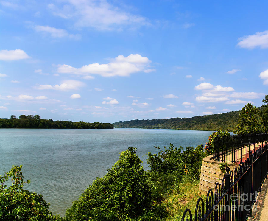 The Ohio River by Randy J Heath