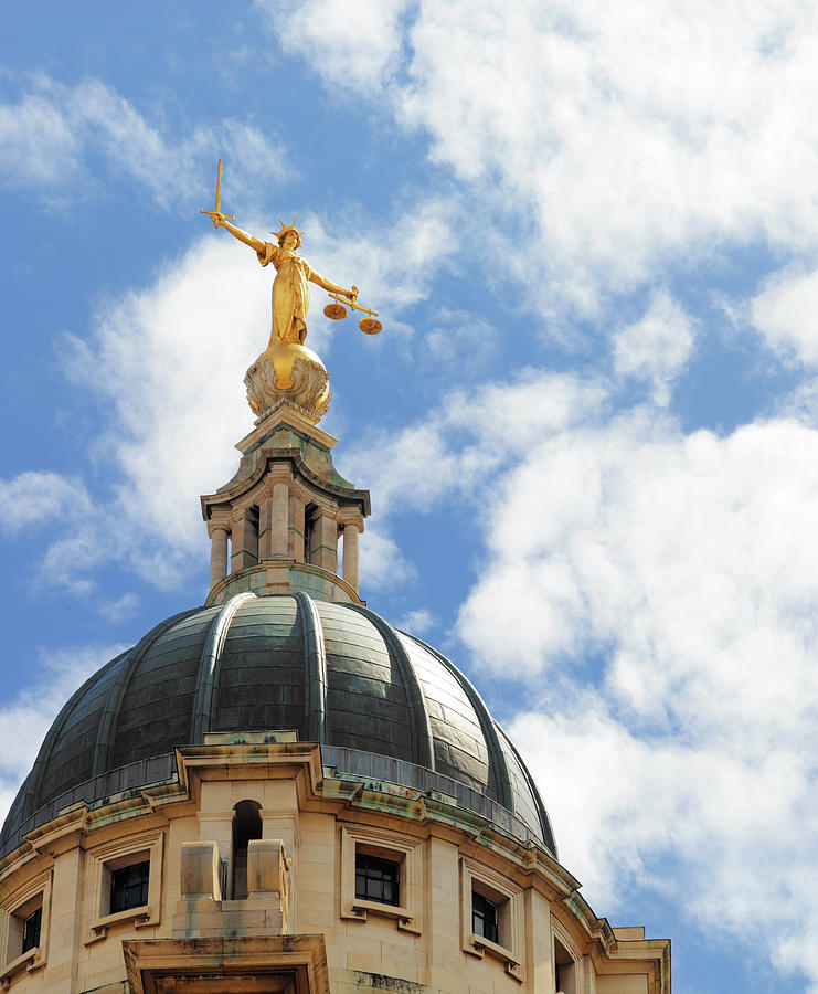 The Old Bailey, Central Criminal Court Photograph by Peter Dazeley