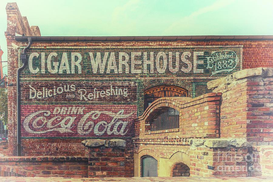 The Old Cigar Warehouse - Greenville South Carolina Photograph