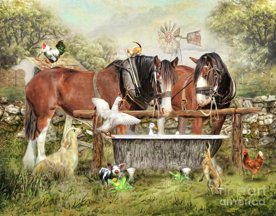 The Old Country Tub by Trudi Simmonds