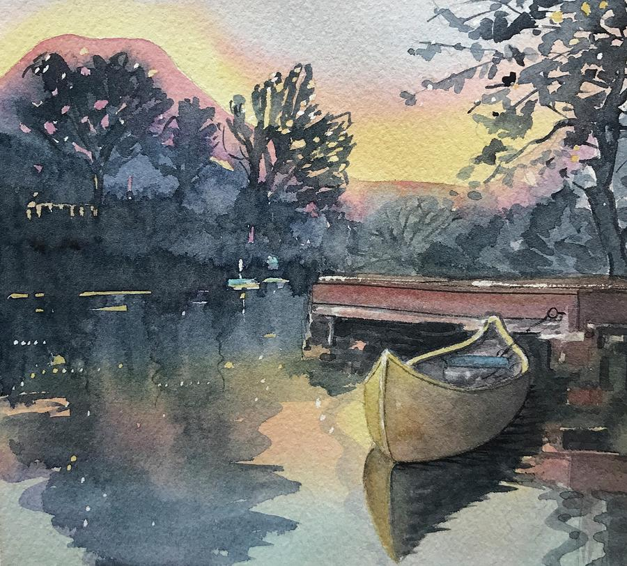 The Old Dock Painting