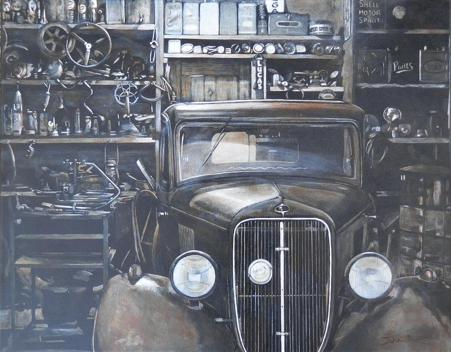 The Old Garage by John Neeve