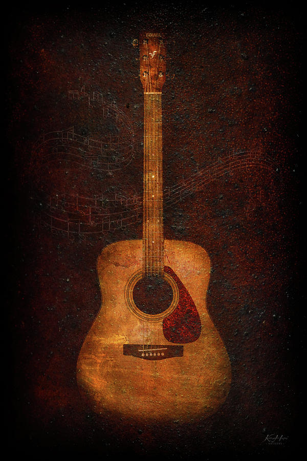 The Old Guitar by Keith Hawley