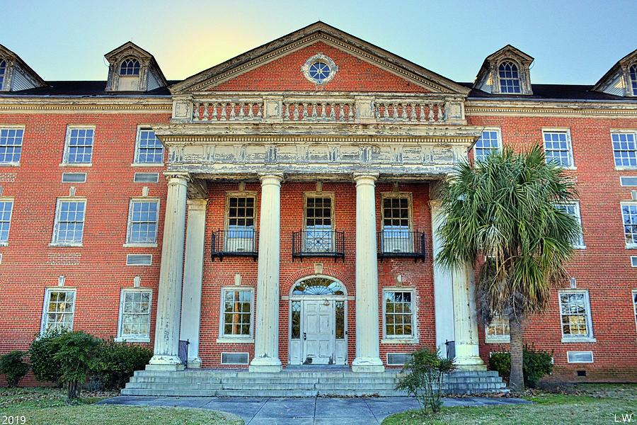The Old Medical School At The University Of South Carolina by Lisa Wooten