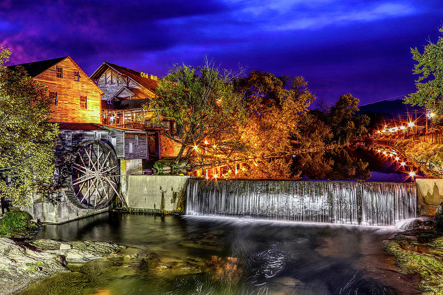 The Old Mill by Brian Cole