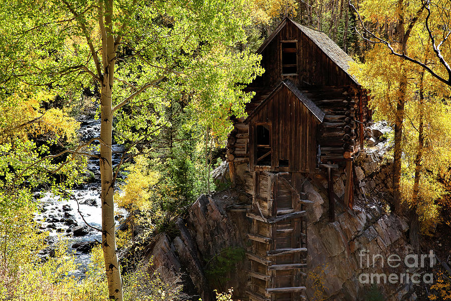 The Old Mill by Jim Garrison