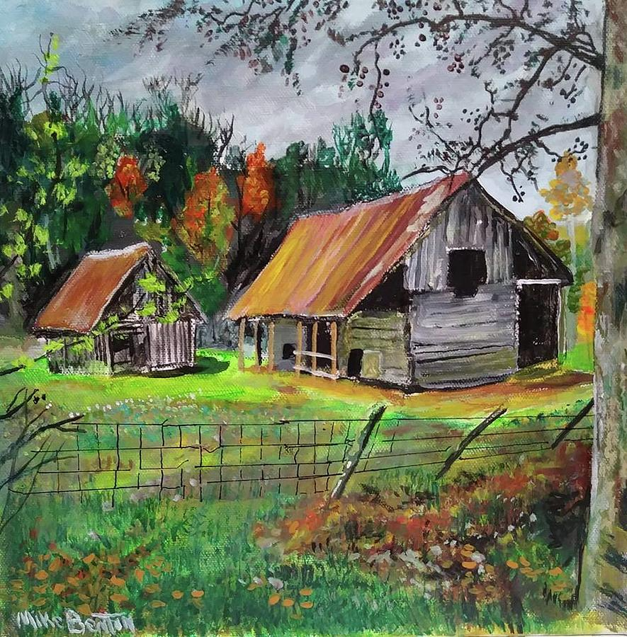 The Old Place by Mike Benton