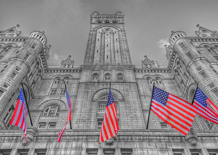 The Old Post Office now Trump International Hotel in Washington D.C. by Marianna Mills
