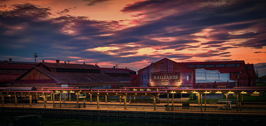 The Old Railyards by Janet Kopper
