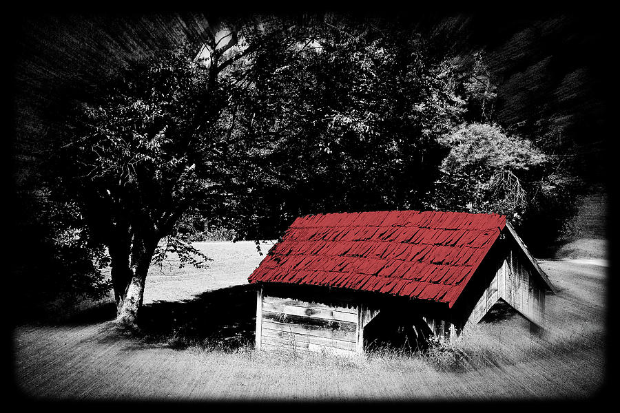 The Old Red Roof  by Constance Lowery