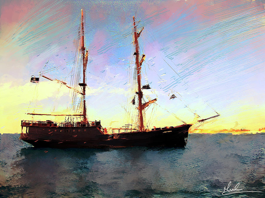 The Old Ship by GW Mireles