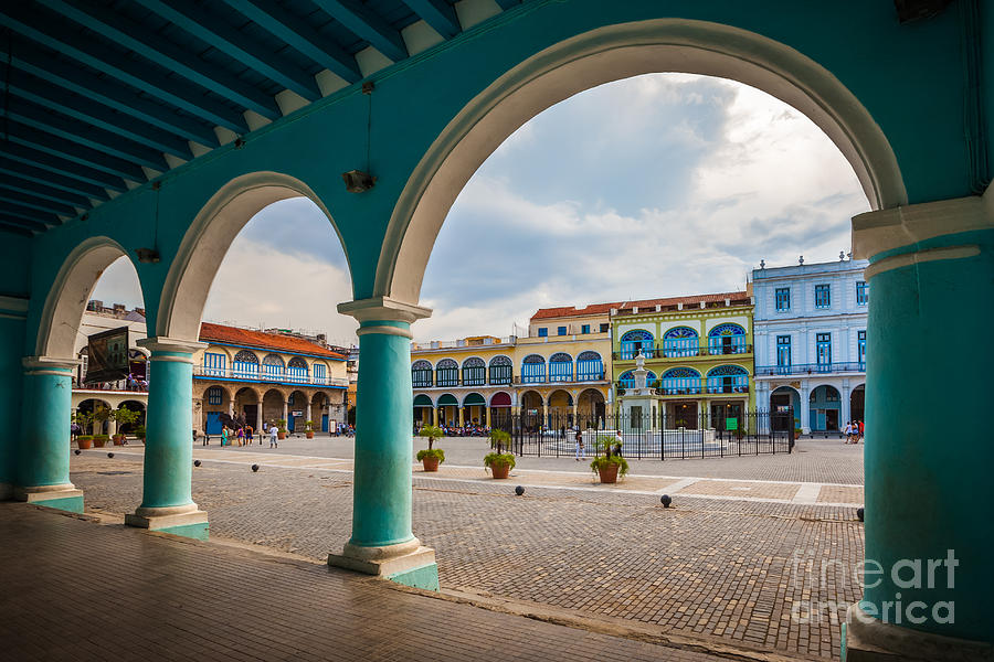 City Photograph - The Old Square Or Plaza Vieja by Maurizio De Mattei