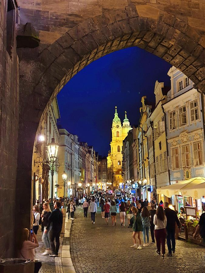The Old Streets of Prague by Andrea Whitaker
