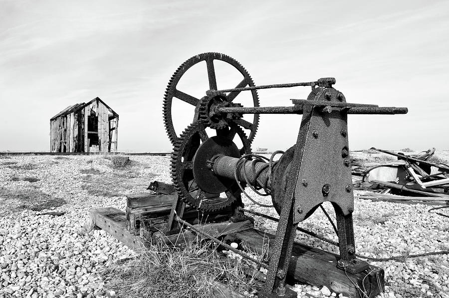 The Old Winch by Mick House