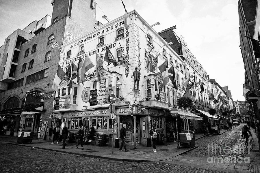 Oliver Photograph - The Oliver St John Gogarty Pub Dublin Republic Of Ireland Europe by Joe Fox