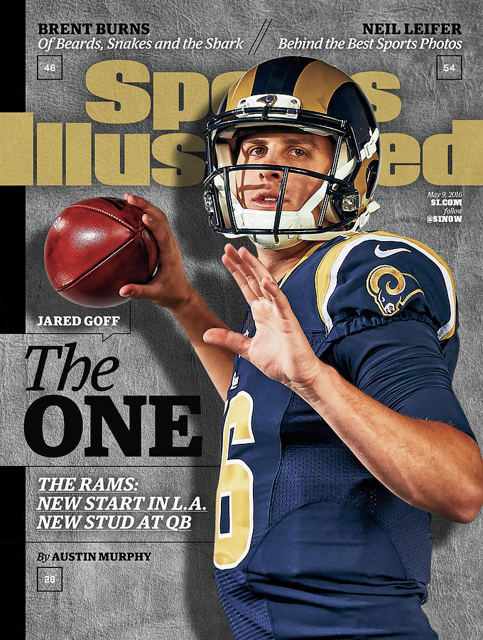 The One Jared Goff Sports Illustrated Cover Photograph by Sports Illustrated