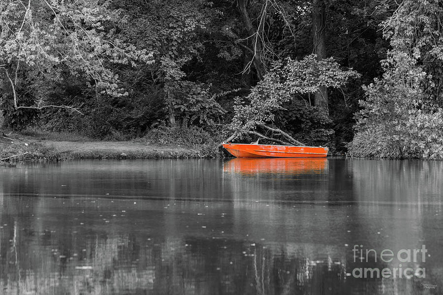 The Orange Boat Select Color by Jennifer White