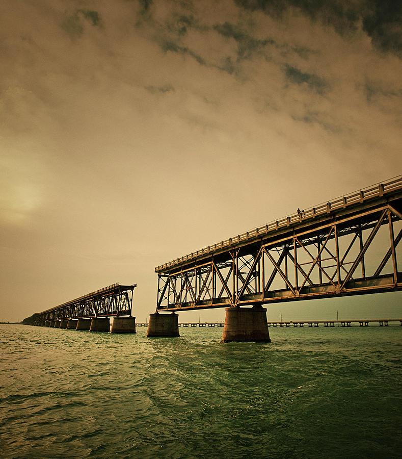 The Original Bahia Honda Bridge Photograph by Thepalmer