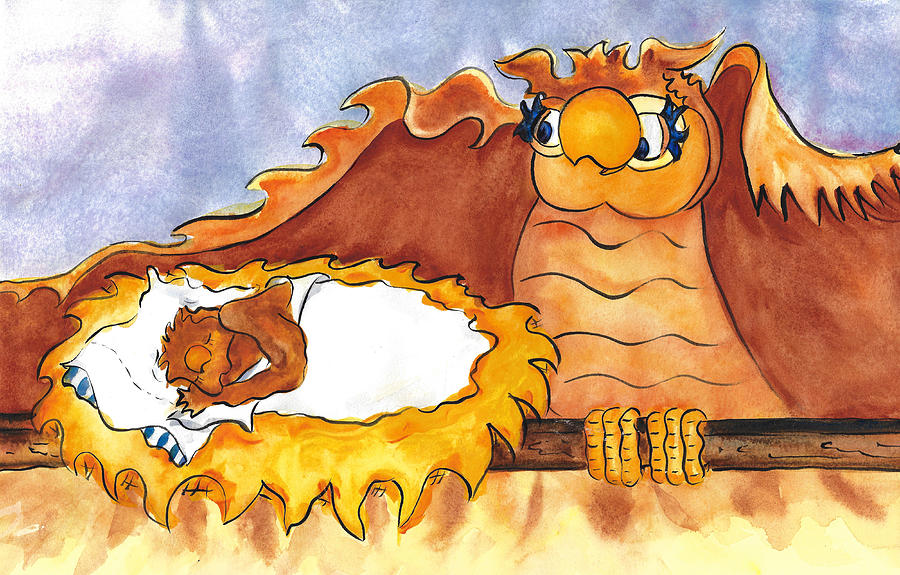 The Owls Go to Bed by Jacki Kellum