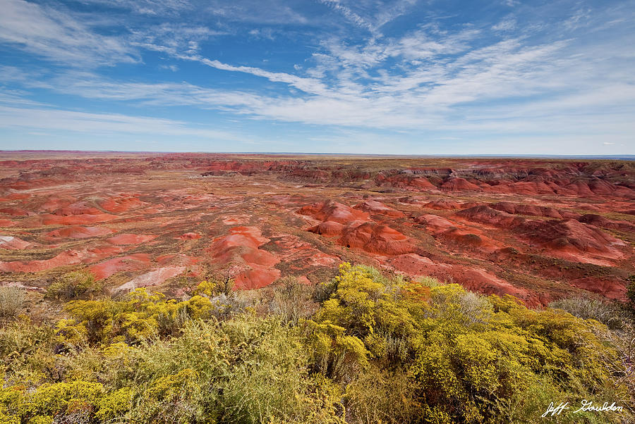 The Painted Desert from Tiponi Point by Jeff Goulden