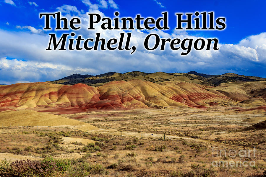 Painted Hills Photograph - The Painted Hills Mitchell Oregon 02 by G Matthew Laughton