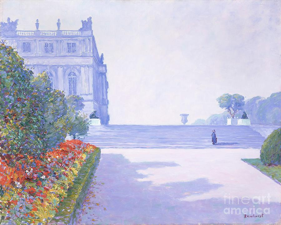 The Palace, Versailles, 1884-1941 Drawing by Heritage Images