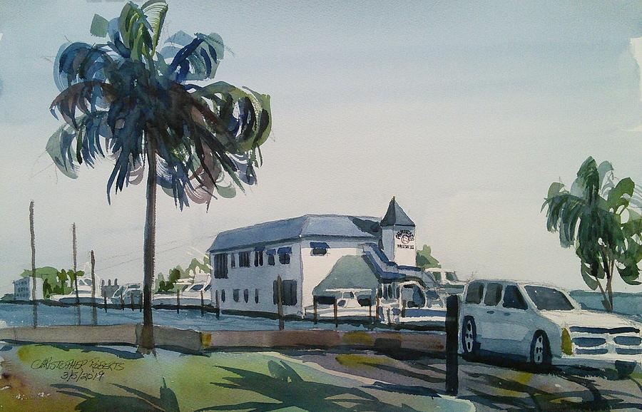 The Palm Beach Yacht Club by Chris Roberts