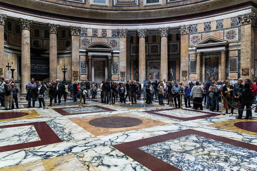 The Pantheon Anticipating Rain by Georgia Mizuleva