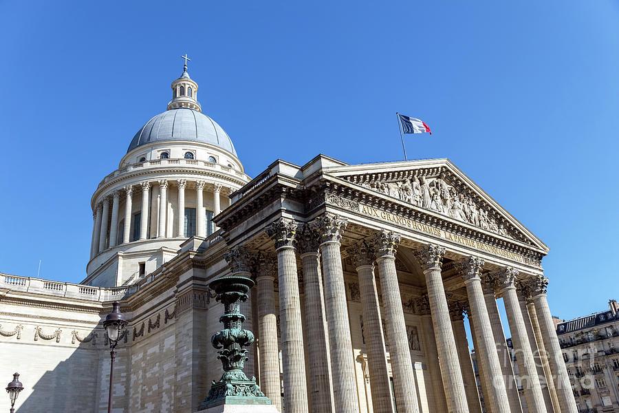 The Pantheon in Paris by Ulysse Pixel