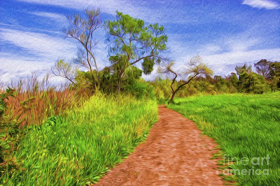 The Path That Lies Ahead II Digital Art by Kenneth Montgomery