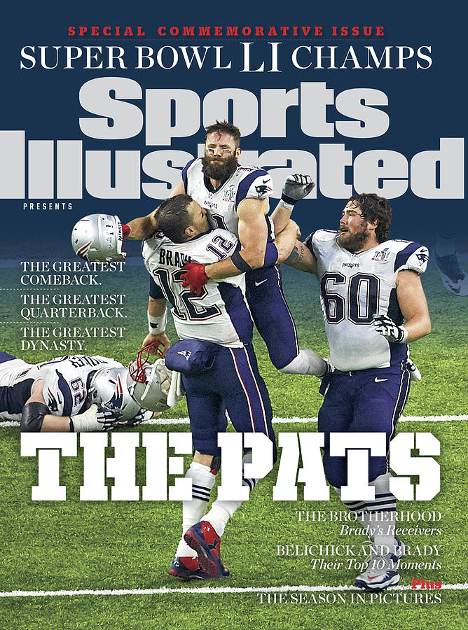 The Pats Super Bowl Li Champs Sports Illustrated Cover Photograph by Sports Illustrated