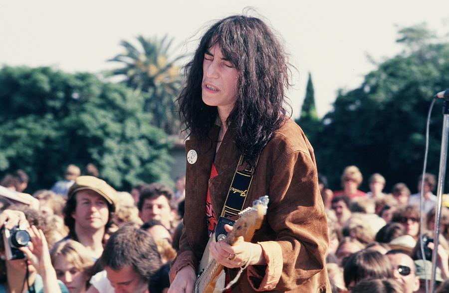 The Patti Smith Group Perform In Los Photograph by Michael Ochs Archives