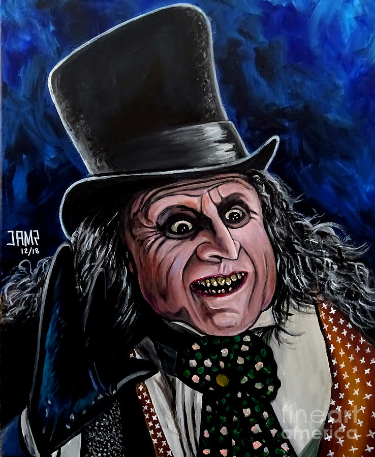 The Penguin Painting - The Penguin by Jose Mendez
